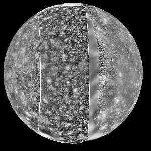 Callisto Full Face:December 9, 1996